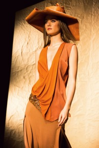 Donna Karan Spring / Summer 2014 collection shown at New York Fashion Week