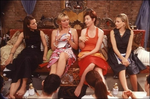 Sexo en Nueva York manicura pedicura