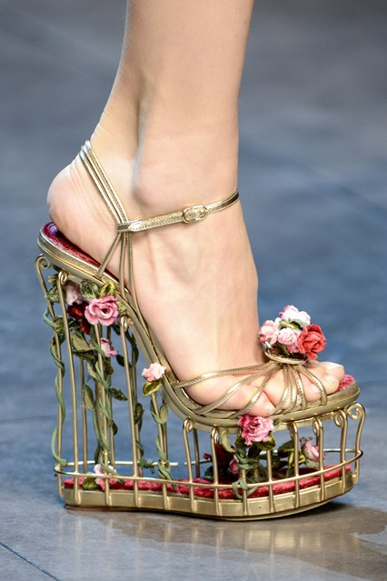 Dolce And Gabbana Patent Leather Shoes
