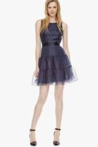 vestido doble organza 378