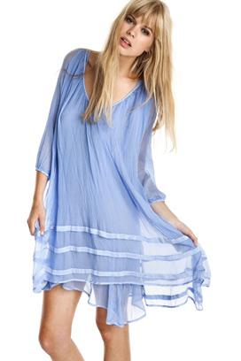 vestido_tunica_seda_bambula_azul_beachwear_barcelona