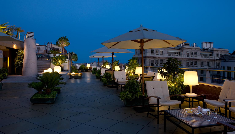 Las terrazas top chic de barcelona gente cosmo - Hotel casa fuster terraza ...