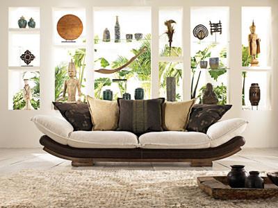 sofa junco de la maison coloniale