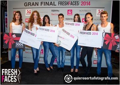 Ganadores Fresh Faces 2014 y Montibello